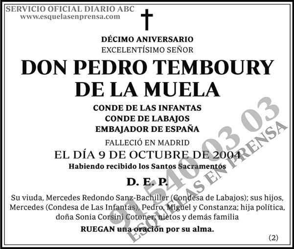 Pedro Temboury de la Muela